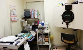 前庭機能検査室