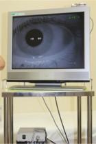 赤外線眼振カメラ